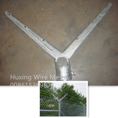 6 Wire Double Barbed Wire Arm