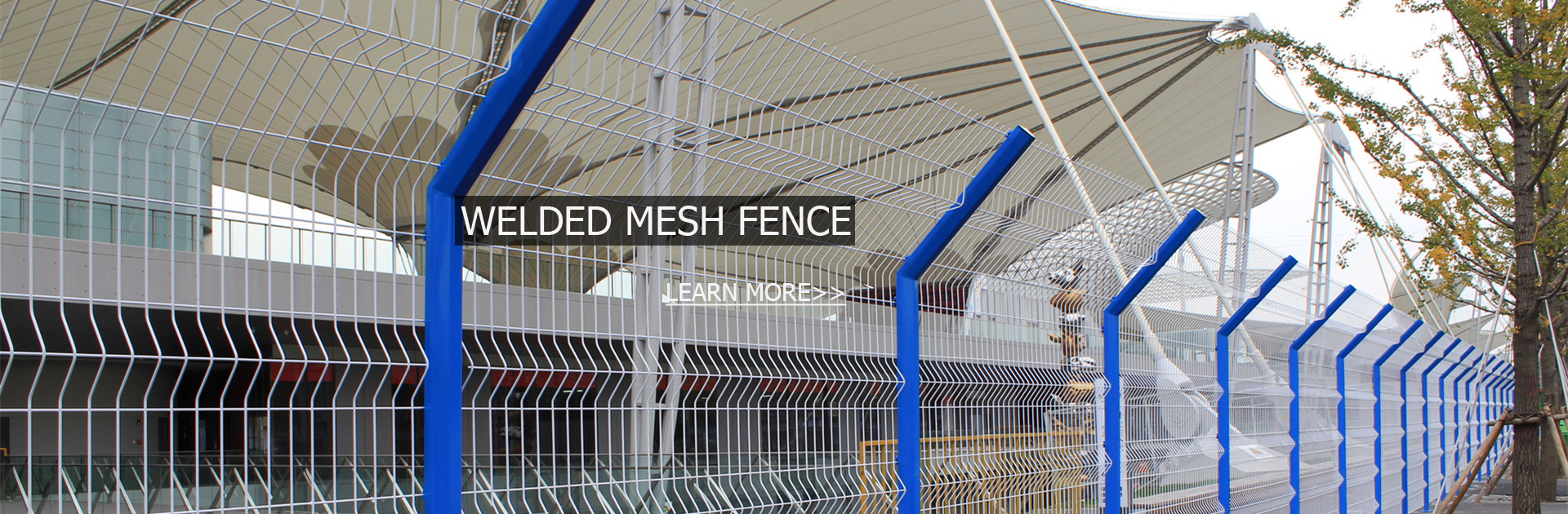 Wire Mesh Security Fence - HUXING WIRE MESH