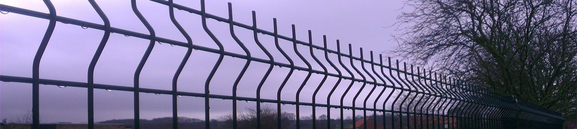 V Mesh Perimeter Security Fence